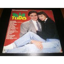 Lp Novela Vale Tudo Internacional 1988, Disco Vinil Seminovo