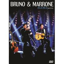 Dvd - Bruno & Marrone - Agora Ao Vivo - Lacrado