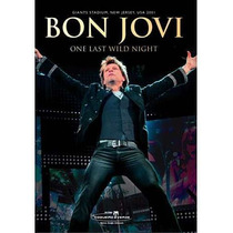Dvd Bon Jovi - One Last Wild Night Original Lacrado