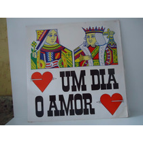 Lp Novela Um Dia O Amor- Trilha Sonora- Selo Teletema- 1975