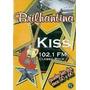 Brilhantina Kiss 102.1 Classic Rock Dvd Lacrado