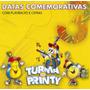 Cd Turma Do Printy - Datas Comemorativas 3 / Bônus Playback