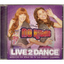 Cd No Ritmo - Live 2 Dance - Novo***