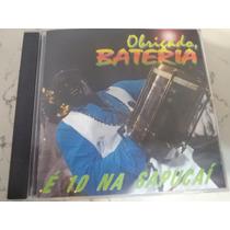 Cd Música Carnaval Bateria Sambas De Enredo Instrumental Cd