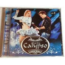 Cd Banda Calypso 10 Anos Vol.1 Forró Pop Brega Zouk Lambada