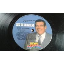 Lp Luiz De Carvalho - Alvo Mais Que A Neve (1982) Apenas Lp