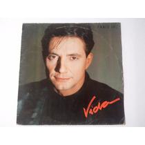 Lp Fábio Junior - Vida - Encarte - 1988 - Disco De Vinil