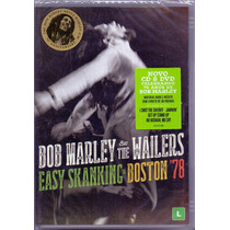Dvd + Cd Bob Marley The Wailers - Easy Skanking In Boston 78