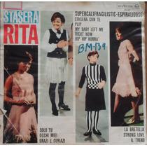 Lp (036) Itália - Rita Pavone - Stasera Rita