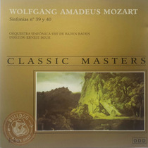 Wolfgang Amadeus Cd Novo Mozart Classic Masters Orquestra A1