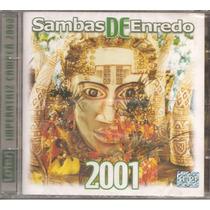 Cd - Sambas Enredo Rio De Janeiro - Carnaval 2001 - Lacrado