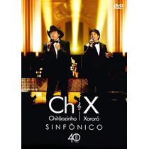 Dvd+cd Chitãozinho E Xororó - Sinfônico / 40 Anos (989221)