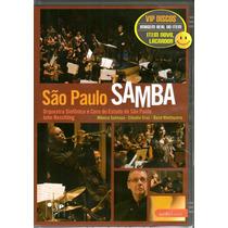 Dvd São Paulo Samba Com Mônica Salmaso - Novo Lacrado Raro