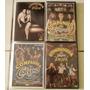 Lote 4 Dvds Companhia Do Calypso Original + Frete Grátis
