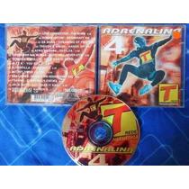Cd- Adrenalina - Vol. 4 - Original - Frete Gratis