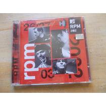 Cd - Rpm - Mtv Ao Vivo - 2002 - Com Paulo Ricardo