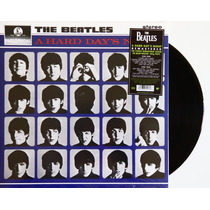 Lp Vinil The Beatles A Hard Days Night Remasterizado