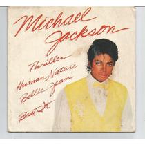Compacto Michael Jackson - Beat It - Ano 1982 - Raro!!!