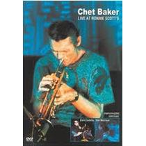 Chet Baker Live At Ronnie Scotts Dvd Lacrado Raro Original