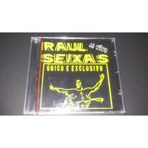 Cd Raul Seixas Ao Vivo Único E Exclusivo 1ª Ed 2002 Lacrado.