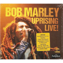 Box 2 Cd / 1 Dvd Bob Marley - Uprising Live! - Novo***