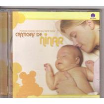 Cd Cantigas De Ninar, Músicas Suaves Para Seu Nenê, Original
