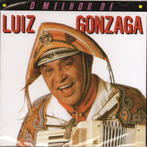 Cd O Melhor De Luiz Gonzaga Original + Frete Grátis