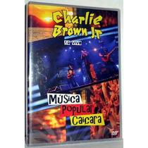 Dvd Charlie Brown Jr. - Música Popular Caiçara Ao Vivo