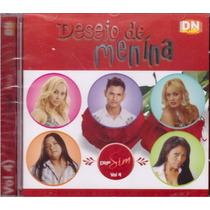 Cd Desejo De Menina Diga Sim Vol.4 - Original Otímo Estado