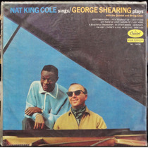 Lp Vinil - Nat King Cole Sings, George Shearing Plays