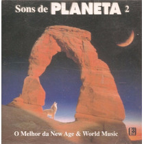 Cd Lacrado Sons De Planeta 2 New Age & World Music Corciolli