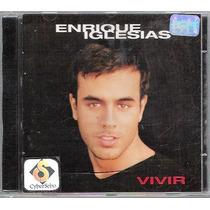 Cd Enrique Iglesias - Vivir