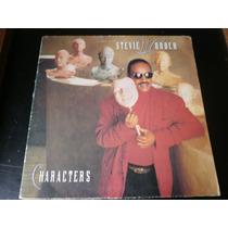 Lp Stevie Wonder, Characters, Disco Vinil Capa Dupla, 1987