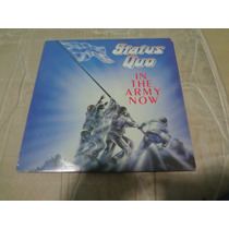 Status Quo Lp In The Army Now Importado Saxon Rush Accept