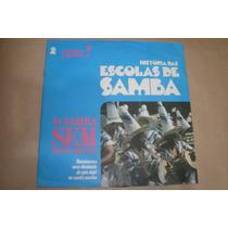 Histórias Das Escolas De Samba, Lp 10 , Portela, Mangueira
