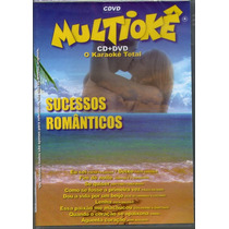 Dvd Multiokê Cd+ Dvd - Sucessos Romanticos- Novo***