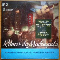 Norberto Baldauf Lp 10 Polegadas Ritmos Da Madrugada No. 2