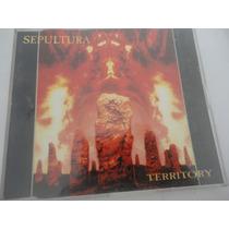 Sepultura Cd Territory E.p. (1993) Single Alemão Roadrunner