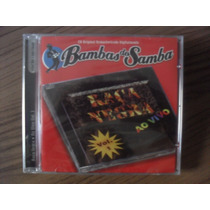 Cd Raça Negra Ao Vivo Vol.1 Bambas Do Samba Produto Lacrado