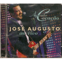 Cd José Augusto - Aguenta Coração / Ao Vivo - Novo***
