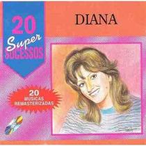 Cd Diana - Sucessos Musica Brega Nordestina Forró