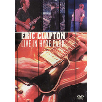 Dvd Eric Clapton - Live In Hyde Park