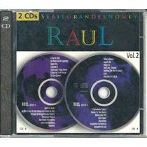 Cd Raul Seixas - Série Grandes Nomes Vol. 2 - Duplo