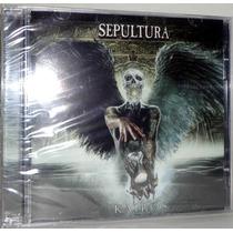 Cd + Dvd Sepultura - Kairos ( C/ 2 Faixas Bonus )
