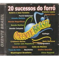 Cd Oxente Brasil - Roberio E Seus Teclados, Forro Saborear