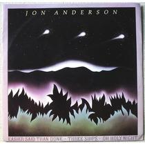 Lp Single 12 Polegadas Jon Anderson - Three Ships - Import.