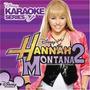 Cd Hannah Montana 2 Disney Karaoke Serie Miley Cyrus Lacrado