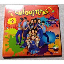 Cd, Chiquititas Vol. 2 Original Lacrado Trilha Novela Sbt