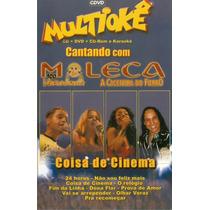 Cd + Dvd Multiokê Moleca 100 Vergonha Original - Novo