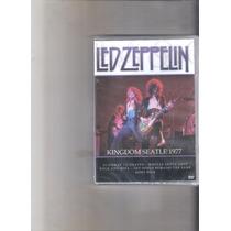 Dvd Led Zeppelin Kingdom Seatle 1977 Lacrado